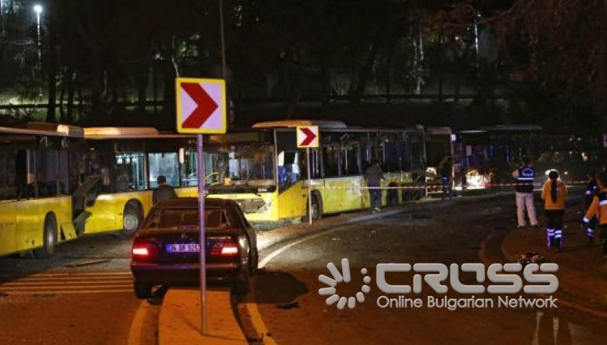 Атентатори убиха 29 души след мач на Бешикташ в Истанбул