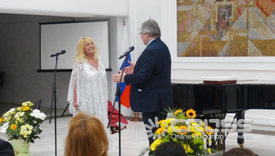 Грета Ганчева получи от президента Путин отличие за културен принос
