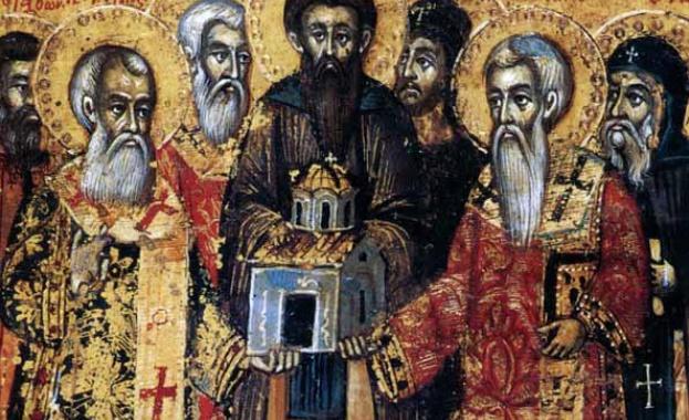 Св.мчк ТеодотАнкирски. Св. мчци Петър, Дионисий и дружината им. Свети седем девици