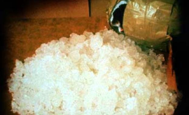 Испанската полиция залови 631 кг метамфетамин при операция по борба