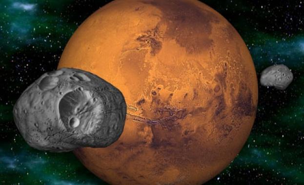 Франция и Япония пращат сонда до марсианска луна