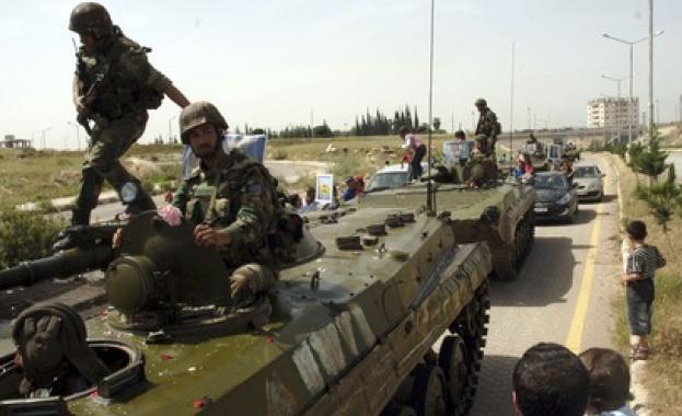 """Последният бастион на """"Ислямска държава"""" в Хомс е превзет"""