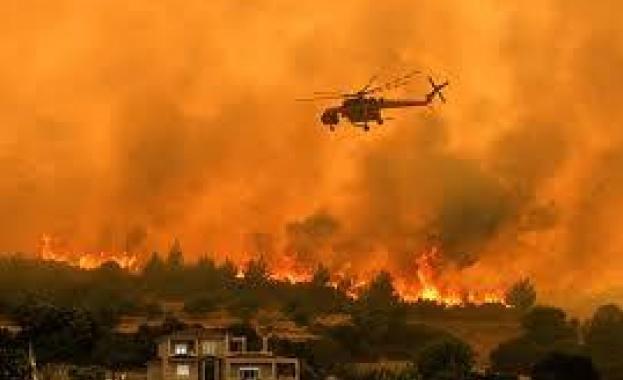 Гърция отново гори!