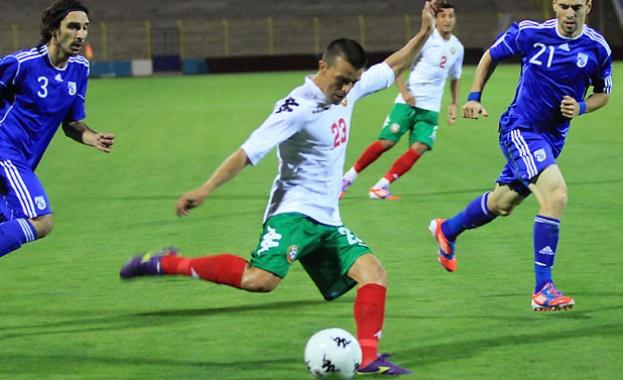 Националният отбор на България по футбол се изкачи с две
