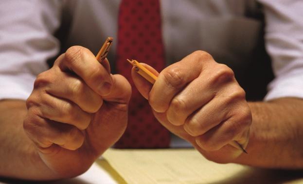 Страх от уволнение, лоши взаимоотношения с началниците, недооценяване или свръхоценяване