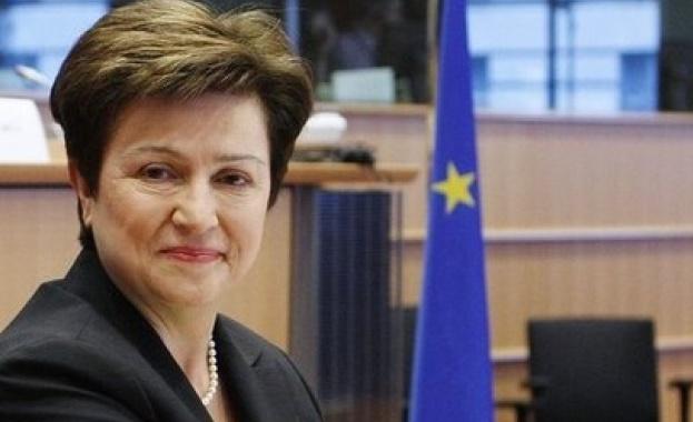 Кристалина Георгиева: Очаквам България да влезе в чакалнята на Еврозоната догодина
