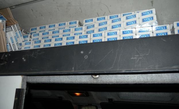 34 200 къса (1710 кутии) контрабандни цигари иззеха митнически служители