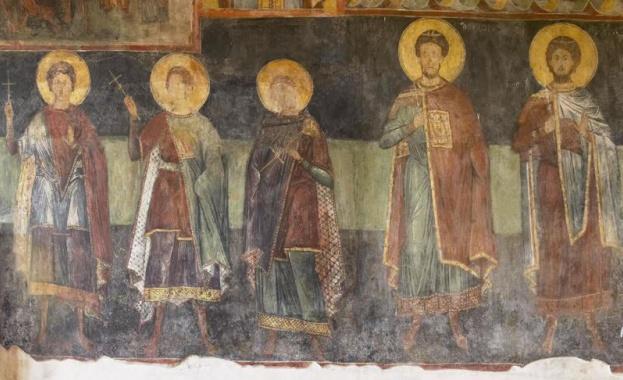 Резултат с изображение за Св. мъченик Иерон и дружината му
