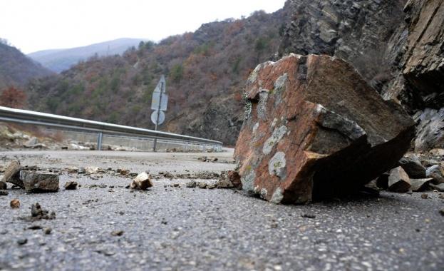 Временно движението в участъка от Боснек до Старо село от