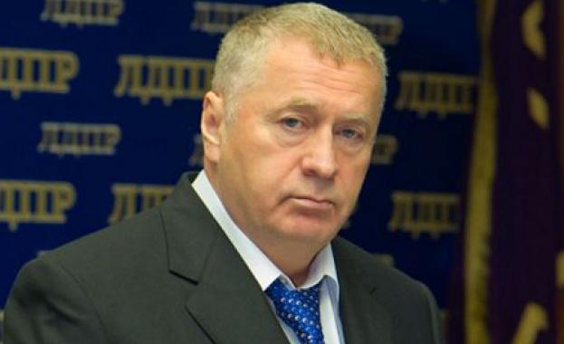 Кандидатът за президент и лидер на руската Либерално-демократическа партия (ЛДПР)