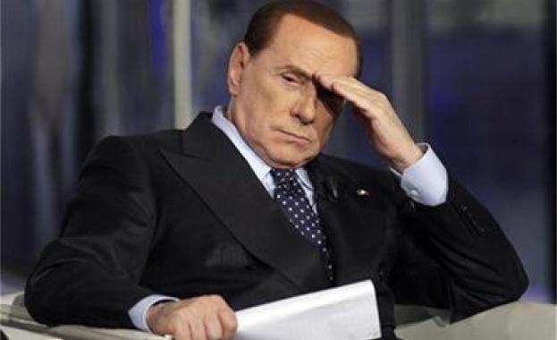 Жена даде 70 000 евро за вечеря с Берлускони