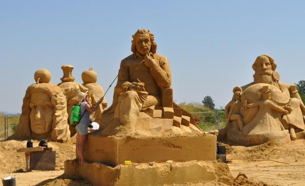 В петък от 18 часа Фестивалът на пясъчните скулптури официално