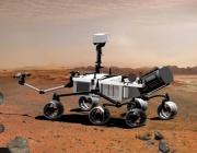 """НАСА публикува снимка на марсохода """"Кюриосити"""" в марсианска орбита"""