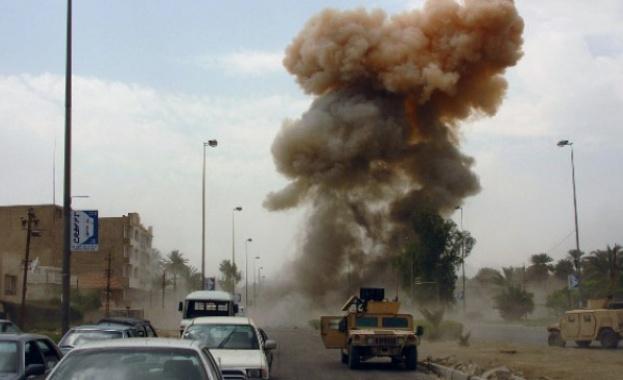 Експлозия пред консулството на САЩ в Ирак /обновена/