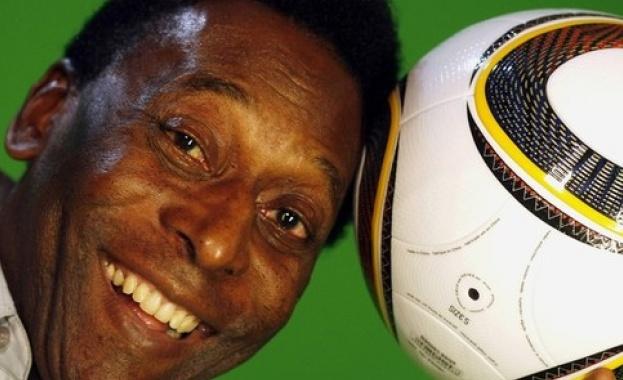 Кралят на футбола, легендата Пеле бе настанен в болница. 77-годишният