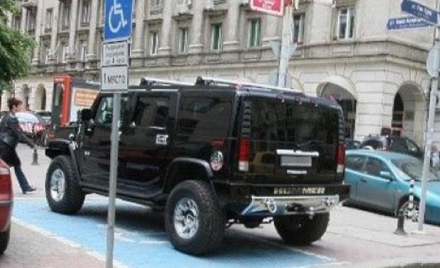 Снимка: 1330 нарушения при паркирането за 24 часа