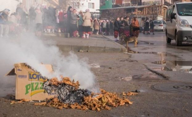 Тютюнопроизводители блокират главния път Шумен - Силистра