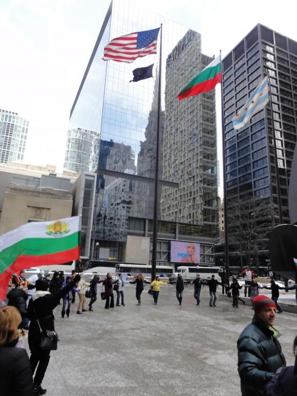 Резултат с изображение за българско знаме чикаго