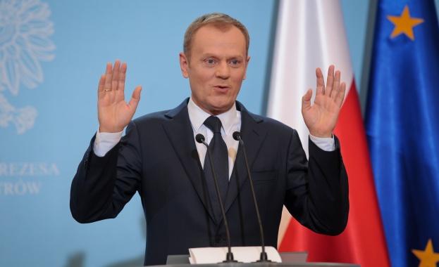 Въпреки стартиралите преговори за Брекзит председателят на Европейския съвет Доналд