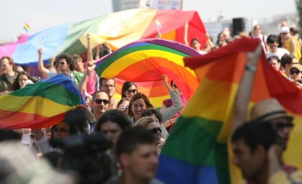 Шествието за защита на правата на ЛГБТ обществото София Прайд