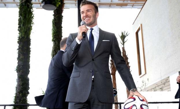 Дейвид Бекъм стана най-високоплатената звезда в Инстаграм за втора поредна