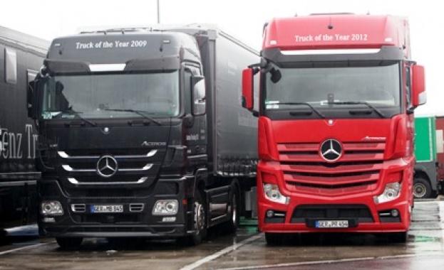 Все повече тежкотоварни превозни средства и автобуси се движат с
