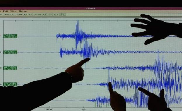 Земетресение 4 степен разлюля Южна Италия