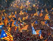 200 000 на протест срещу процеса на каталунските лидери