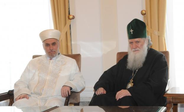 Резултат с изображение за главният мюфтия и патриарха
