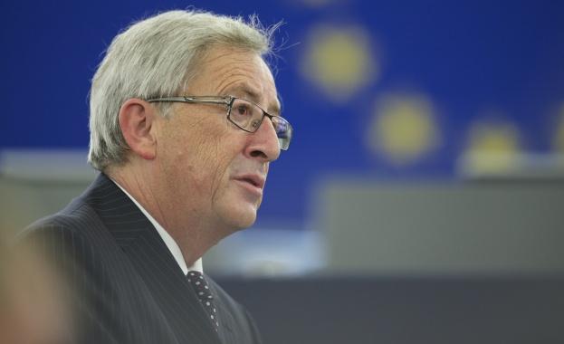 Председателите на Европейската комисия и на Европейския парламент Жан-Клод Юнкер