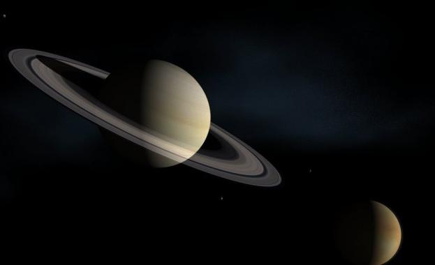 В следващите дни планетата Сатурн ще е в позиция за