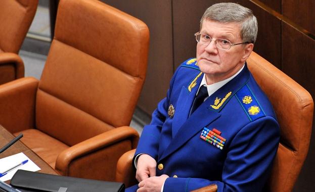 Руският президент Владимир Путин отстрани главния прокурор на Русия Юрий