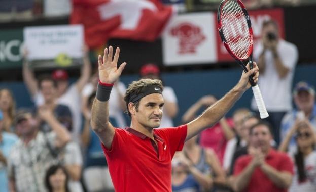 Роджър Федерер се класира за осминафиналите на Индиън Уелс