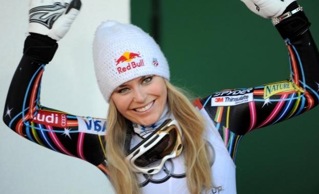 Американската суперзвезда в алпийските ски Линдзи Вон спечели победа №82