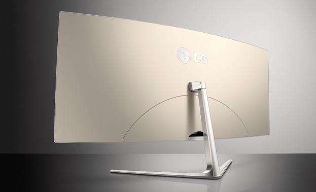 Първият в света извит 21:9 UltraWide монитор от LG