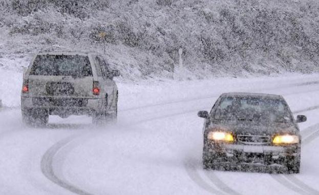 Дъждът в повечето райони ще премине в сняг