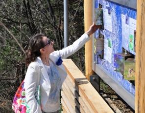 """Откриха новата туристическа атракция на Разлог - Панорамна алея """"Стъпалата"""""""