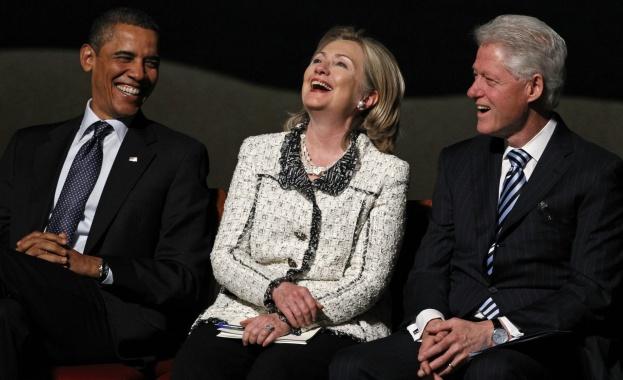 """WSJ: Clinton Foundation получила дарение от 2,35 млн. долара след продажбата на уранова мина на дъщерна фирма на """"Росатом"""""""