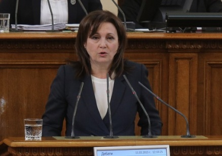 Бъчварова: Вървим към предсрочни избори