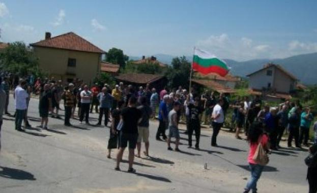 Две досъдебни производства след големия протест в Гърмен