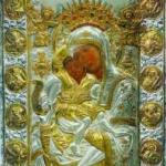 Литийно шествие с чудотворната икона на Света Богородица в Рилския манастир