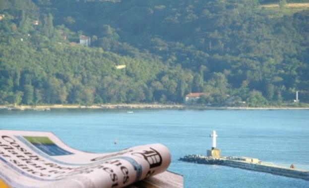 """Три капана дебнат в Гърция, предупреждава вестник """"24 часа."""