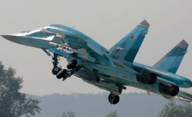 Два руски изтребителя бомбардировачи Су-34 се сблъскаха в небето над