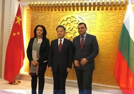 Московски, Павлова и министърът на транспорта на КНР създават програма за инфраструктурните проекти