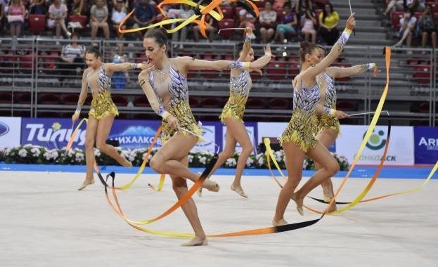 България отново получи Световно по художествена гимнастика