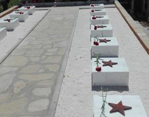 Церемония в памет на 14 загинали съветски войници