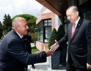Огромен интерес сред турските медии предизвика визитата на Борисов в страната