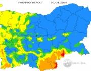 Екстремален индекс за пожароопасност има в някои части на област Хасково
