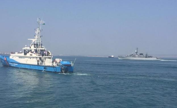 Кораби на бреговата охрана на Гърция и Турция се сблъскаха