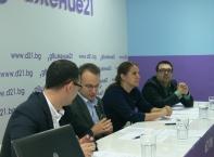 """Пресконференция """"Движение 21"""" за представяне за кмет на район Младост"""